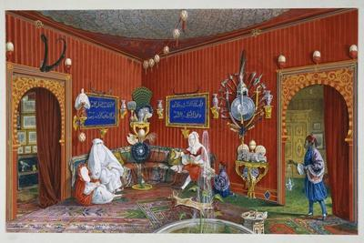 Oriental Room in Villa Lazarovich, Trieste Residence of Maximilian of Habsburg