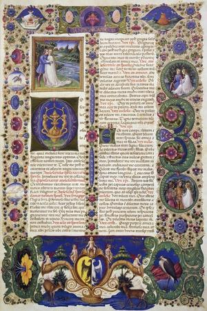 The Song of Songs, from Volume I of Bible of Borso D'Este