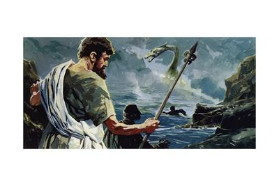 St Columba Came to Loch Ness and Saw a Man Who Had Been Injured by a Great Aquatic Monster