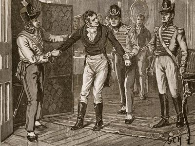 Arrest of Sir Francis Burdett, Illustration from 'Cassell's Illustrated History of England'