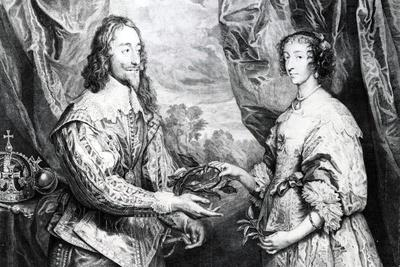 The Marriage of Henrietta and Charles, 1742
