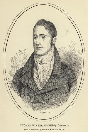 Thomas Winter, Spring, Champion