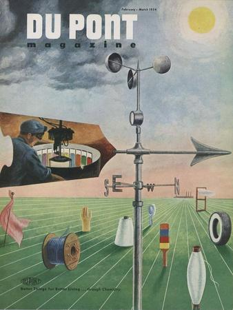 On Trial for its Life, Front Cover of the 'Dupont Magazine', February-March 1954
