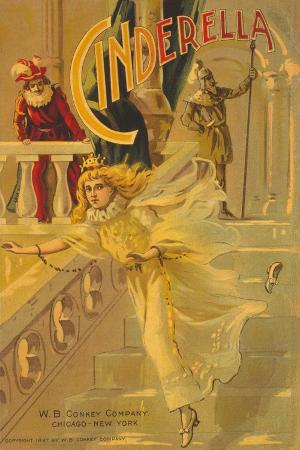 Cover of 'Cinderella', Published by W.B. Conkey Company, Chicago and New York, 1903