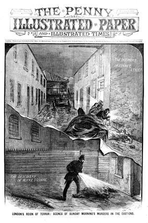 Jack the Ripper: London's Reign of Terror - Scenes of Sunday Morning's Murders in the East End