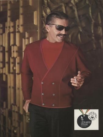 Leonardo Strassi, the Hot Line for Fall '66!, Advertisement for Men's Knitwear, 1966