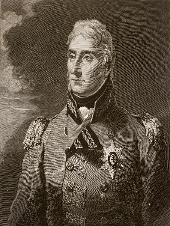 Sir John Moore, Illustration from 'Cassell's Illustrated History of England'