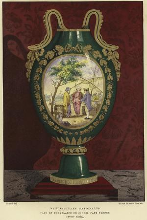 Porcelain Vase from the Manufacture Nationale De Sevres, France, 18th Century