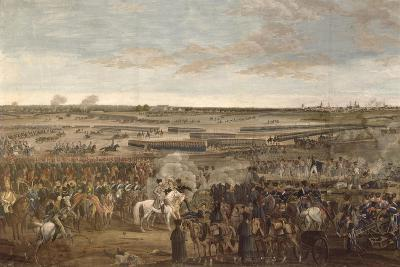 The Battle of Leipzig, Detail of Napoleon in the Foreground, 18th Ocober 1813