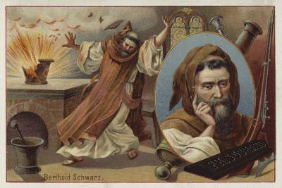 Berthold Schwarz, Legendary 14th Century German Alchemist Said to Have Invented Gunpowder