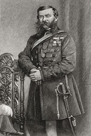 Field Marshal Sir John Linthorn Arabin Simmons, 1821-1903