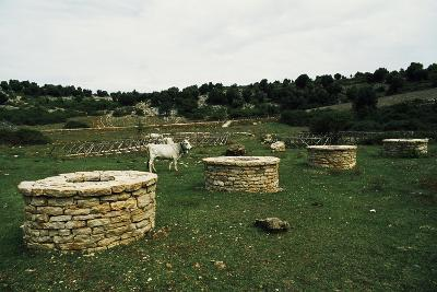 Doline and Man-Made Wells in Dolina Cento Pozzi