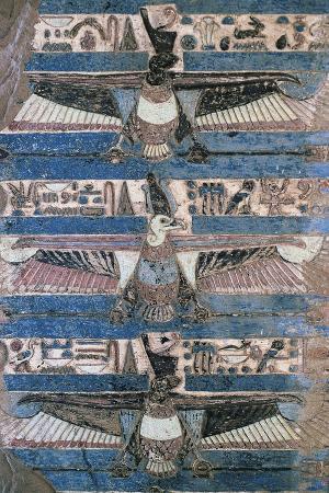 Fresco with Birds