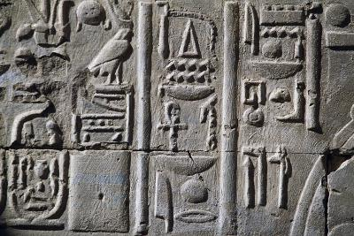Relief with Hieroglyphics
