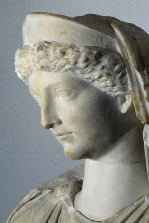 Statue of Seated Livia Depicted as Ceres