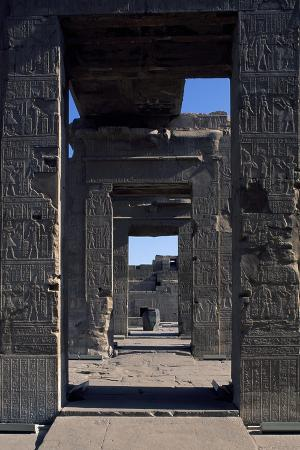 Hypostyle Halls of Temple of Sobek and Haroeris