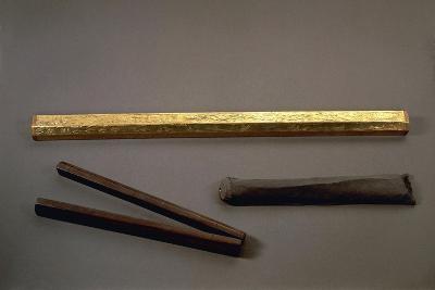 Gilded Wood Cubit