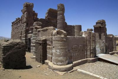 Temple of Roman Period Dedicated to Amun