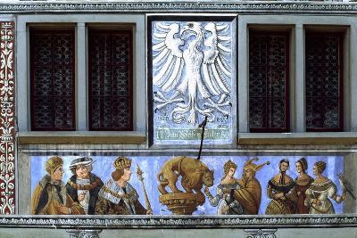 Painted Decoration from Zum Weissen Adler House