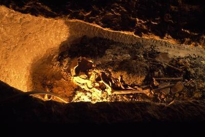 Sarcophagus Discovered During Excavation Work in Tomb of Governor