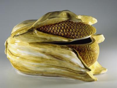 Tureen in Shape of Ear of Corn