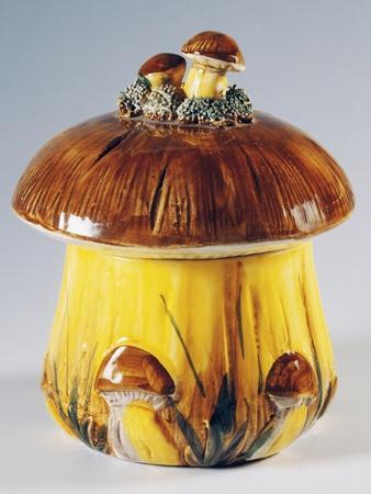 Gravy Boat in Shape of Mushroom