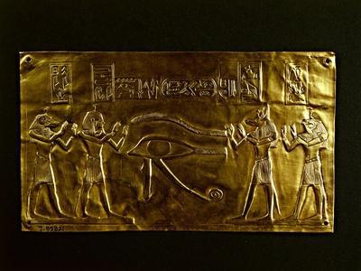 Gold Plate for the Mummy of Psusennes I