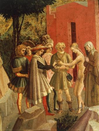 Story of Griselda: Meeting of Gualtieri and Griselda by Francesco Di Stefano
