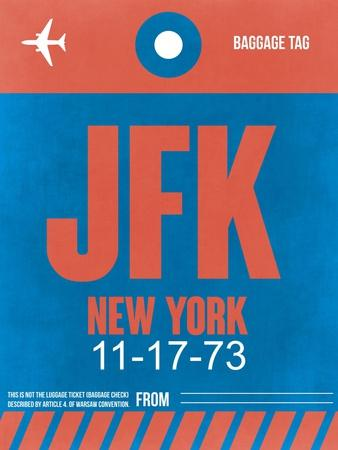 JFK New York Luggage Tag 1