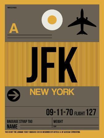JFK New York Luggage Tag 3