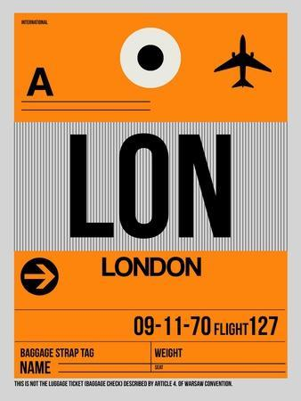 LON London Luggage Tag 1