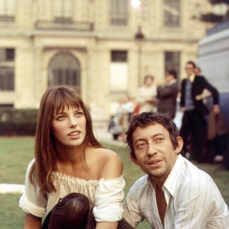 Serge Gainsbourg Jane Birkin Art print Birkin and Gainsbourg Pop Art Print