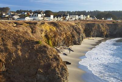Coastal Town of Mendocino, California, United States of America, North America