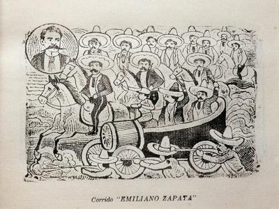 Political Cartoon of Mexican Revolution