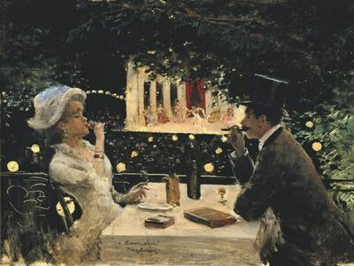 Dinner at Les Ambassadeurs