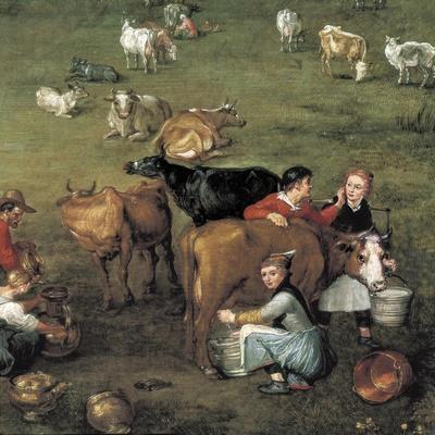 The Peasant Life (Detail)