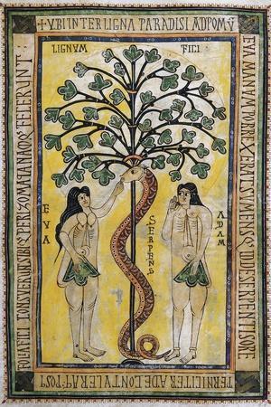 Adam and Eve at the Original Sin