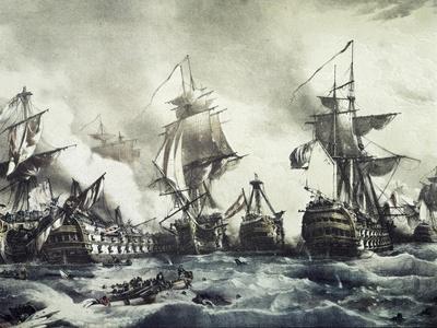 Battle of Trafalgar, October 21, 1805