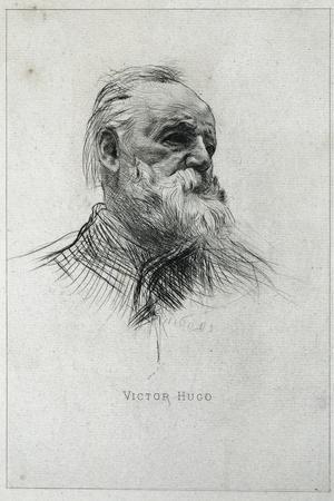 Portrait of Victor Hugo
