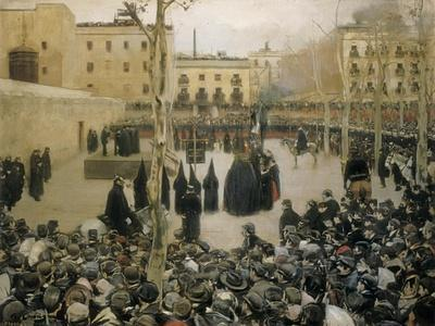 Public Execution by Garrote, 1894