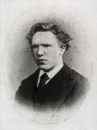 Portrait of Vincent Van Gogh at Age 18