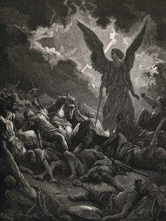 Angel of Yahweh of the Army of Sennacherib