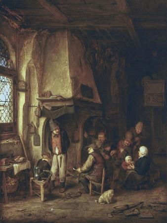 Skaters: Peasants in an Interior