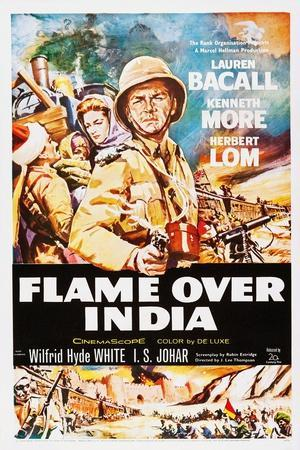 Flame over India