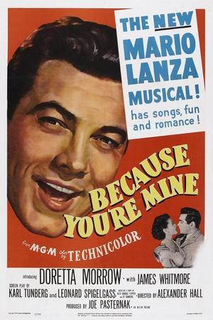 Because You're Mine, 1952