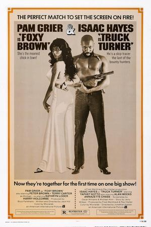 Foxy Brown (On Combo Poster with Truck Turner)