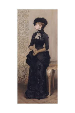 Femme aux gants dite la parisienne