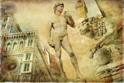 Beautiful Florence -Artistic Collage