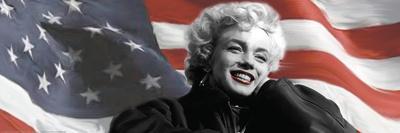Patriotic Blonde Detail