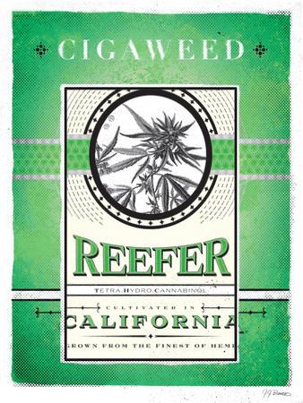 Cigaweed California Reefer